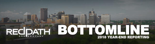 Redpath and Company, Ltd. - Bottom Line 2018 - Get important updates from your Twin Cities CPA firm.