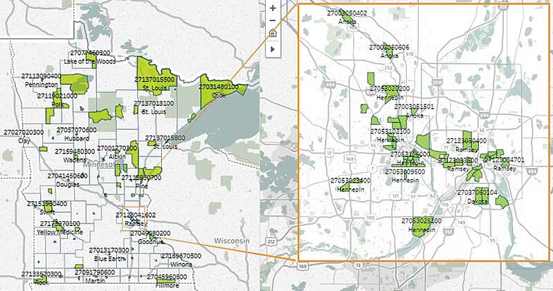 Here Are Opportunity Zones in Minnesota - Redpath and Company